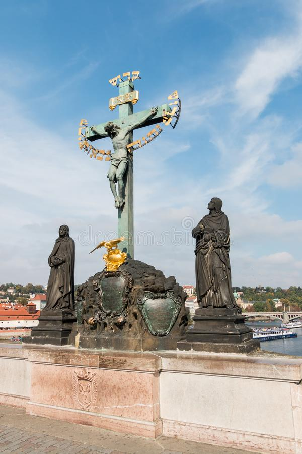 Statue At Petrin Park In Prague Editorial Image - Image of