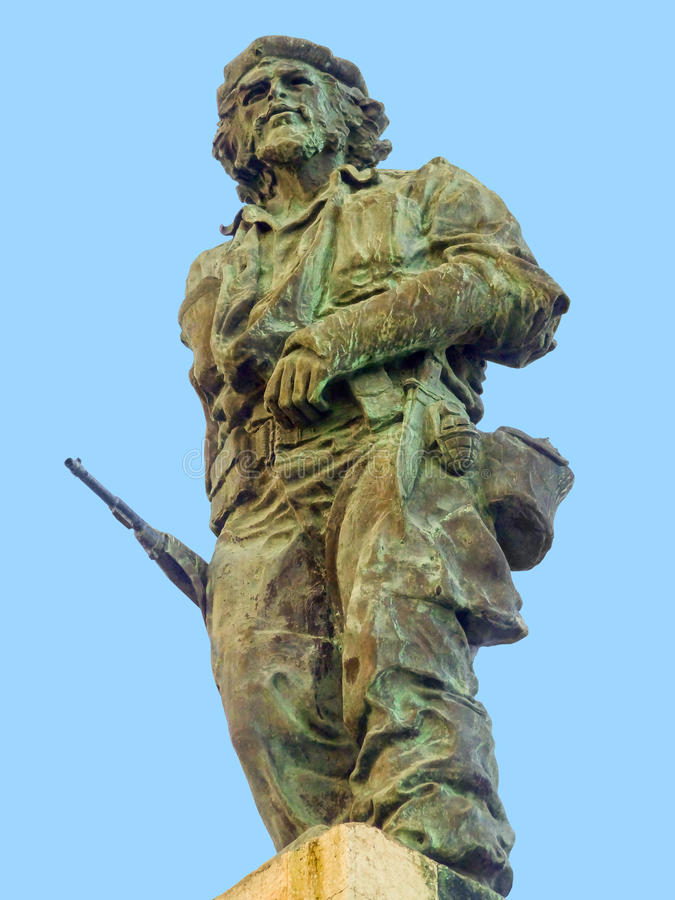 Statue of Che Guevara. Seen in Cuba royalty free stock photo