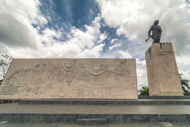 Statue of Che Guevara. In the Memorial and Museum in Santa clara royalty free stock images