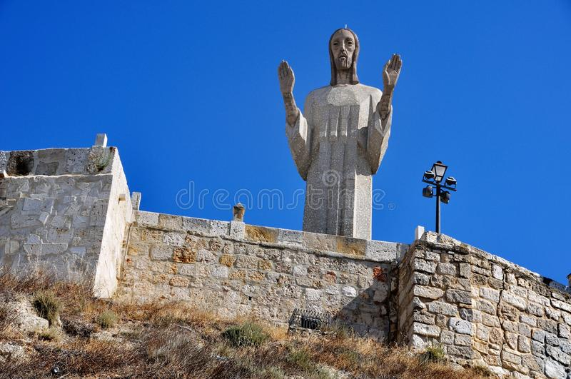 Download Statue of Christ stock photo. Image of leon, town, travel - 26985528