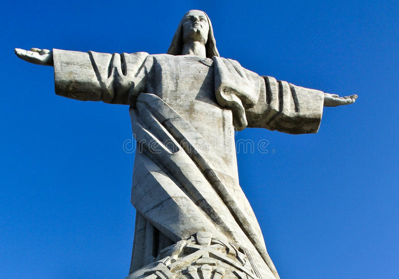 Statue of Christ royalty free stock photos