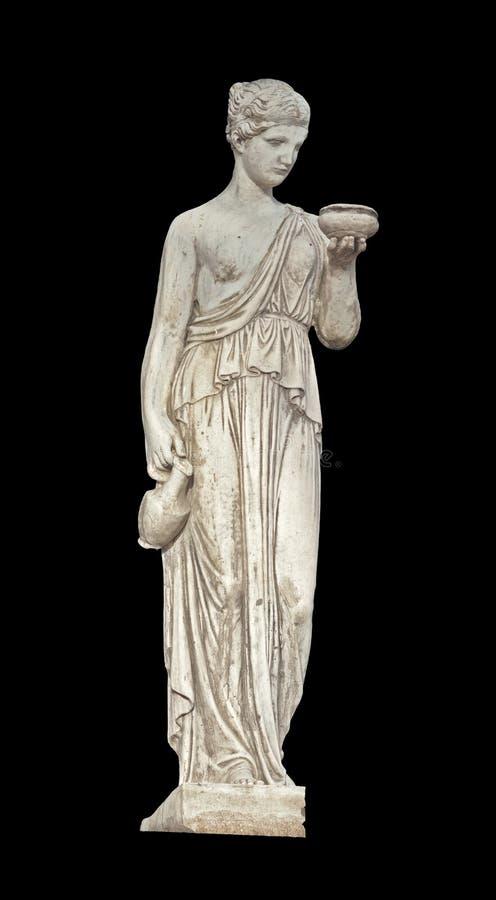 Statue classique du grec ancien image libre de droits