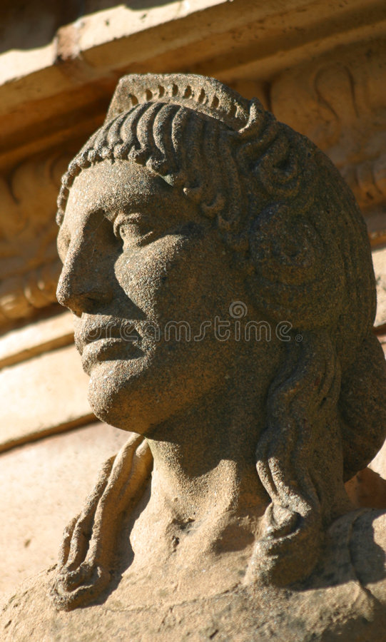 Download Statue closeup stock image. Image of stone, detail, face - 953573