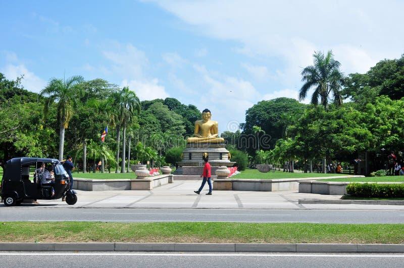 Statue Colombo Sri Lanka de Bouddha photo libre de droits
