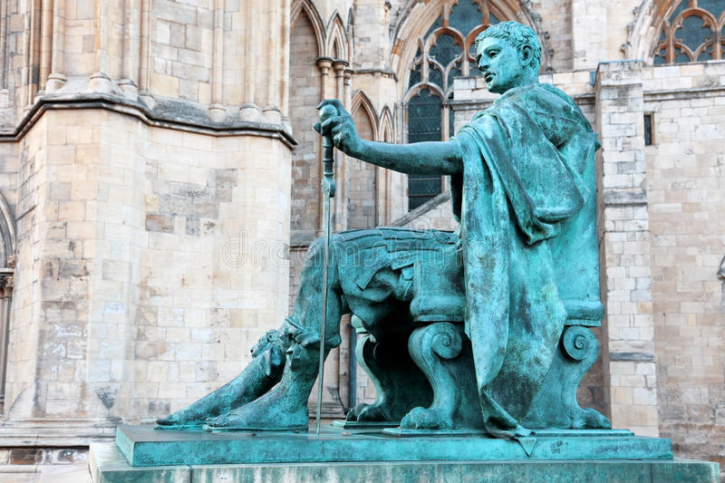 Download Statue of Constantine I stock photo. Image of design - 25433614