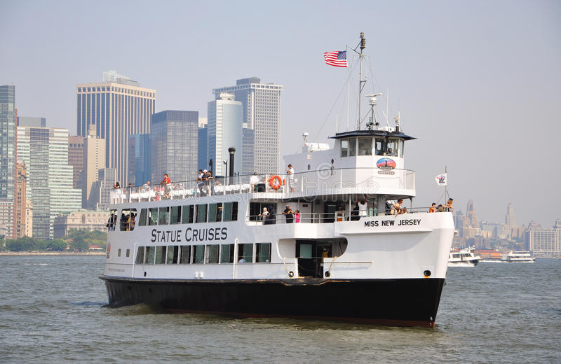 Download Statue Cruises In New York City Editorial Photography - Image: 20452712
