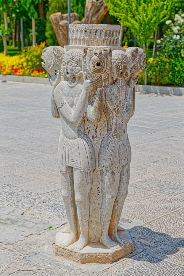 Statue décorative de Chehel Sotoun images libres de droits