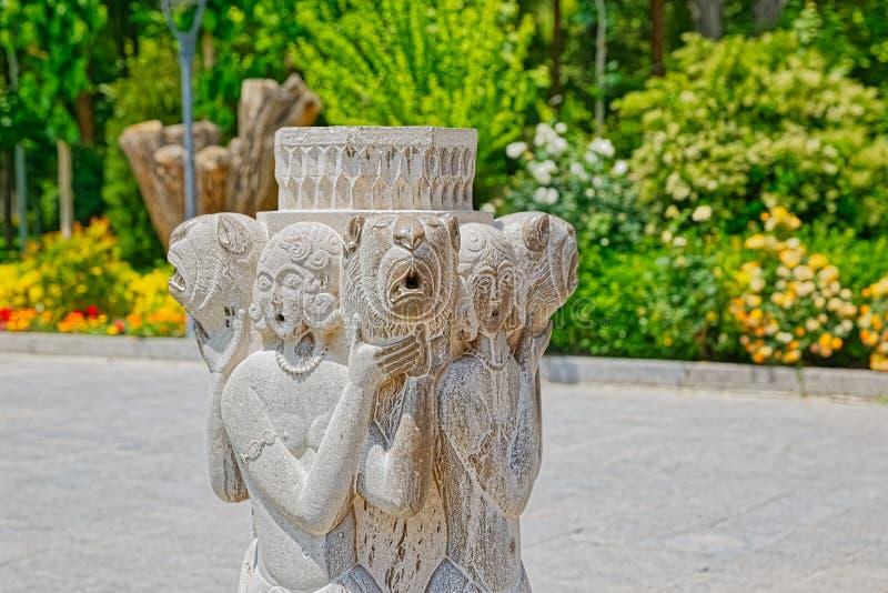 Statue décorative de Chehel Sotoun image libre de droits