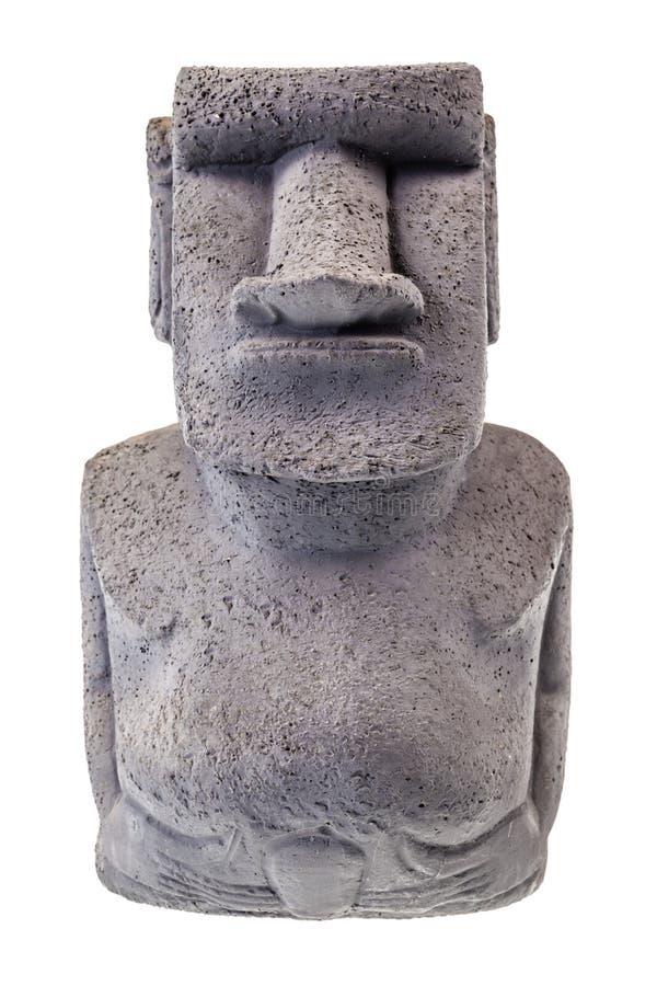 Statue d'île de Pâques photographie stock libre de droits