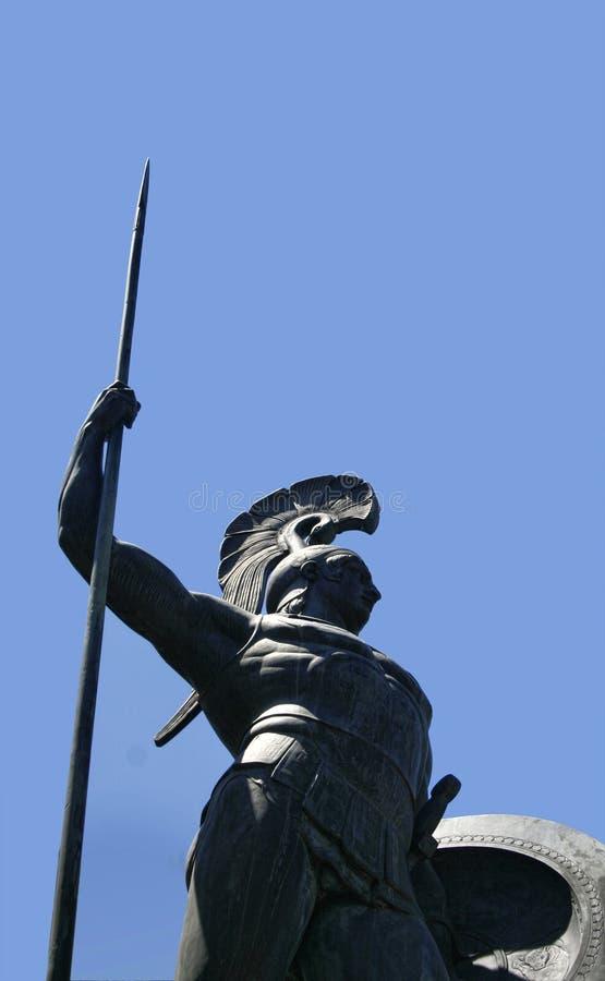 Statue d'Achilleus photos stock
