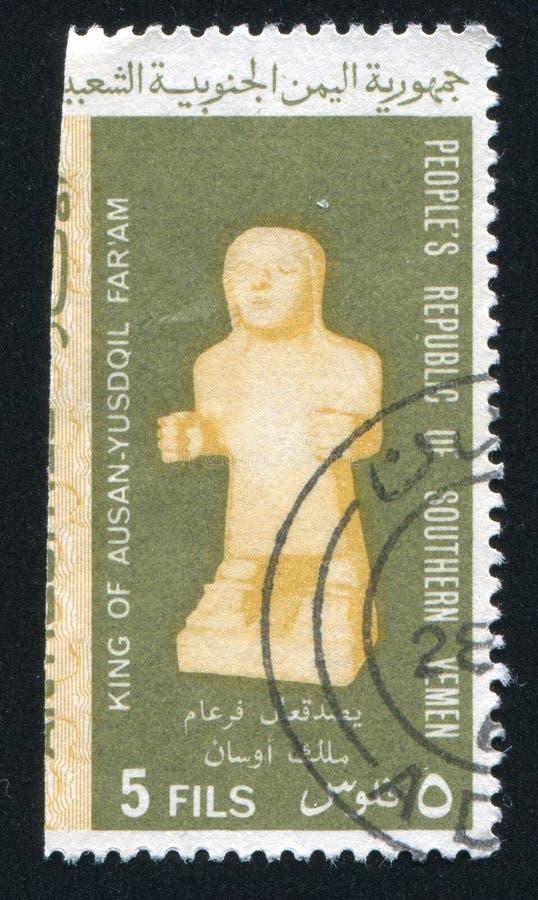 Statue d'albâtre image libre de droits