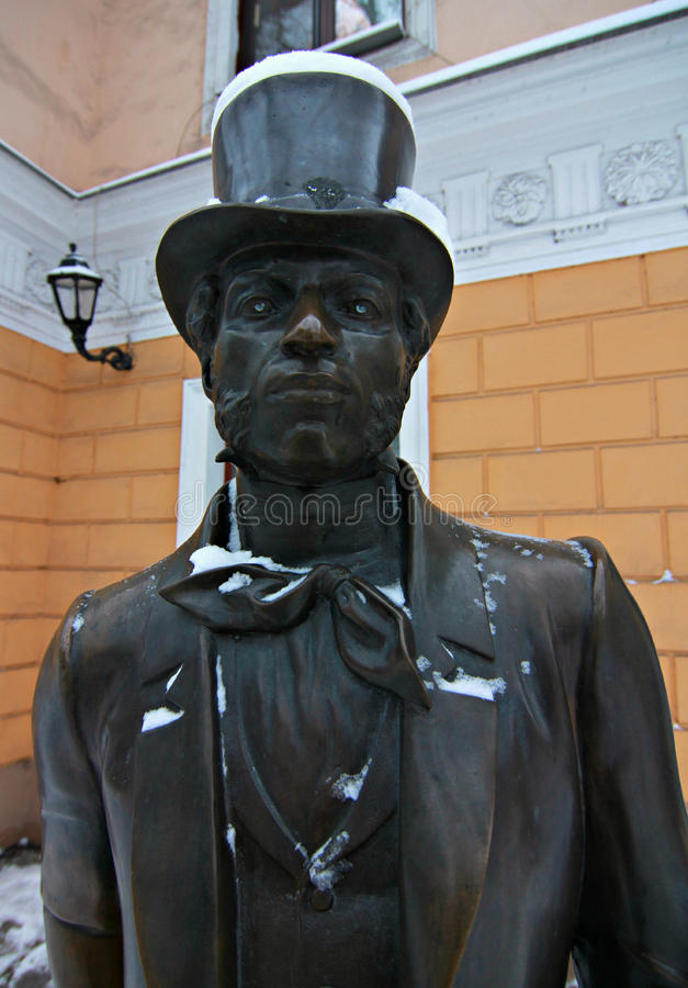 Statue d'Alexander Pushkin images stock