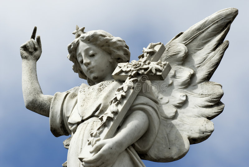 Statue d'ange. images stock