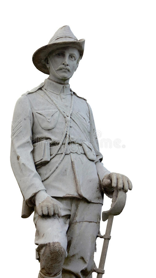 Statue d'ANZAC photographie stock
