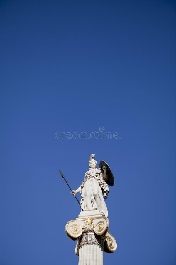 Statue d'Athéna photos libres de droits