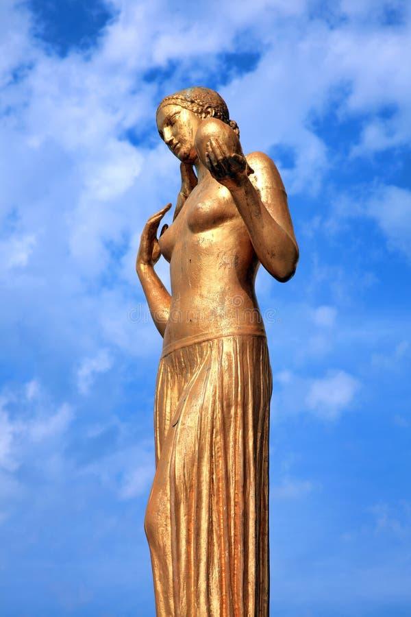 Statue d'or de Jeunesse de La, Paris, France photographie stock
