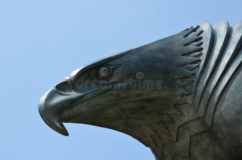 Statue d'Eagle - mémorial de Côte Est, New York City photographie stock