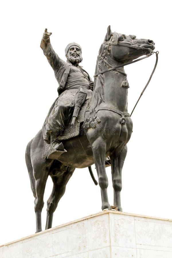 Statue d'Ibrahim Pasha photos stock