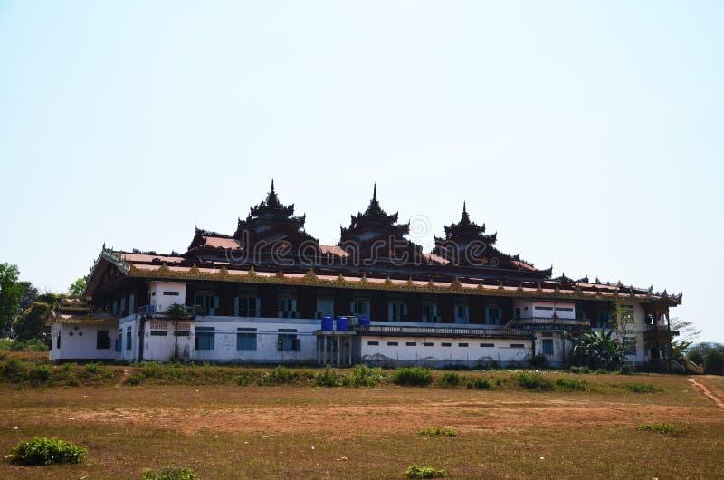 Statue d'image de Bouddha chez Tai Ta Ya Monastery image libre de droits