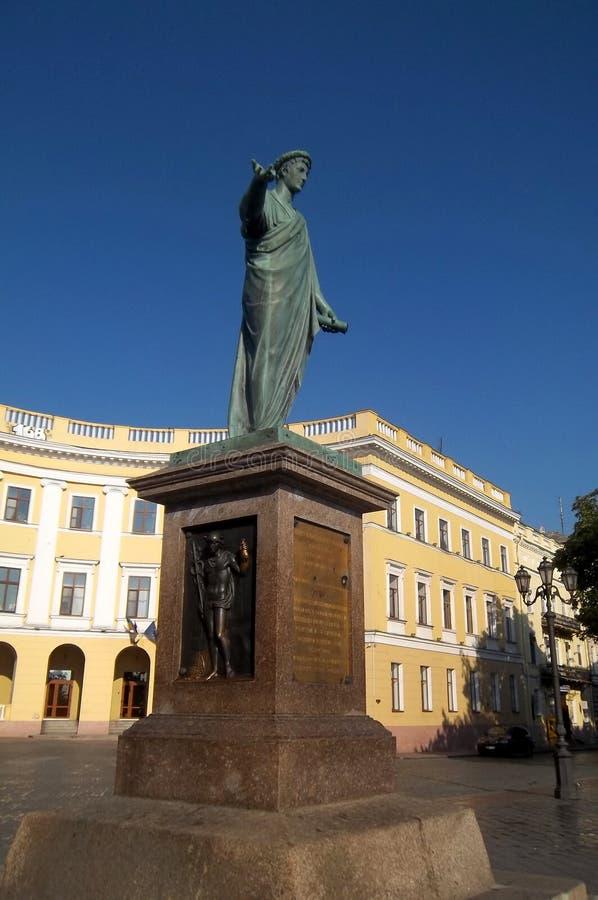 Statue d'Odessa photo libre de droits