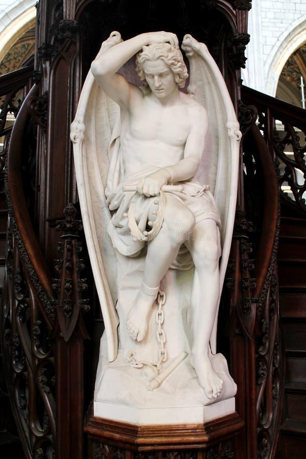 Statue d'un ange photographie stock libre de droits