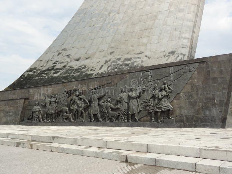 Statue d'Union Soviétique photographie stock