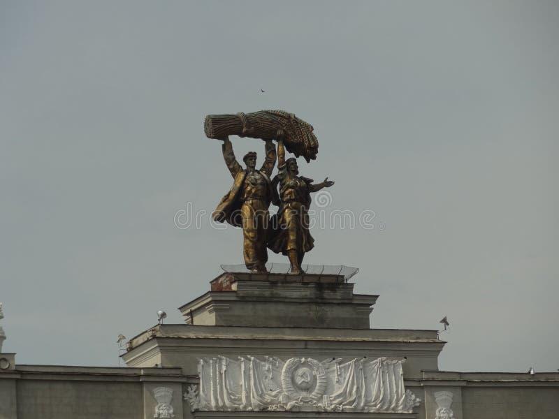 Statue d'Union Soviétique photos stock