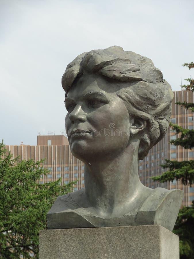 Statue d'Union Soviétique photo libre de droits