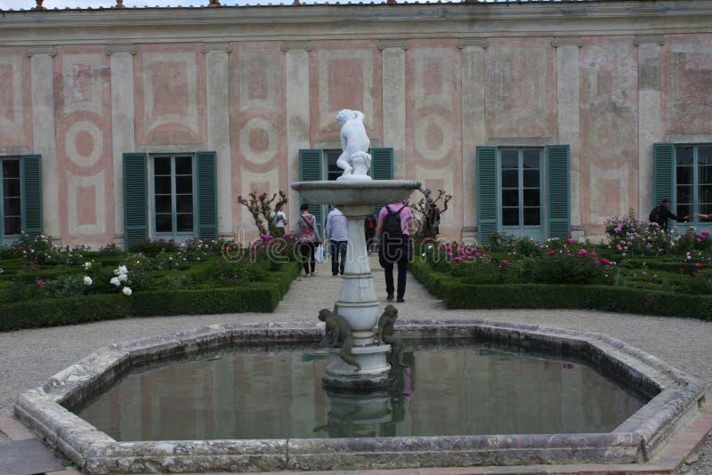 Statue dans des jardins de Boboli - Florence, Toscane, Italie image stock