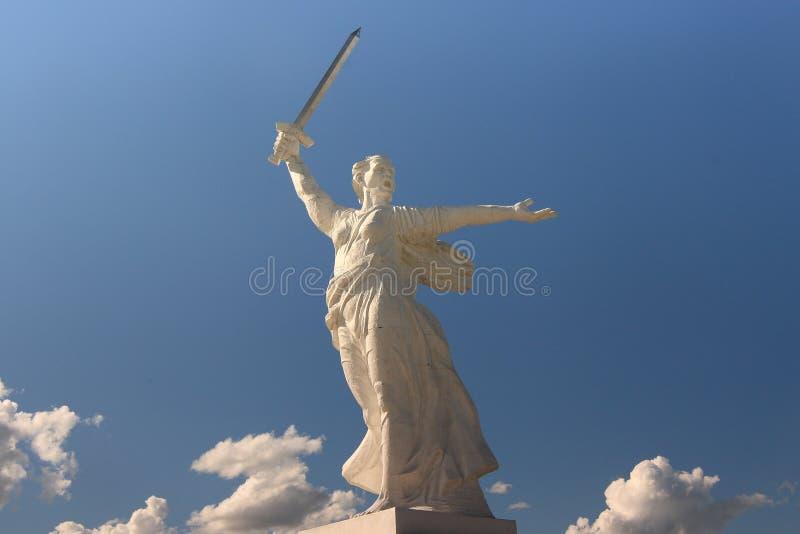 Statue dans le grand dos de Matryoshka photos stock