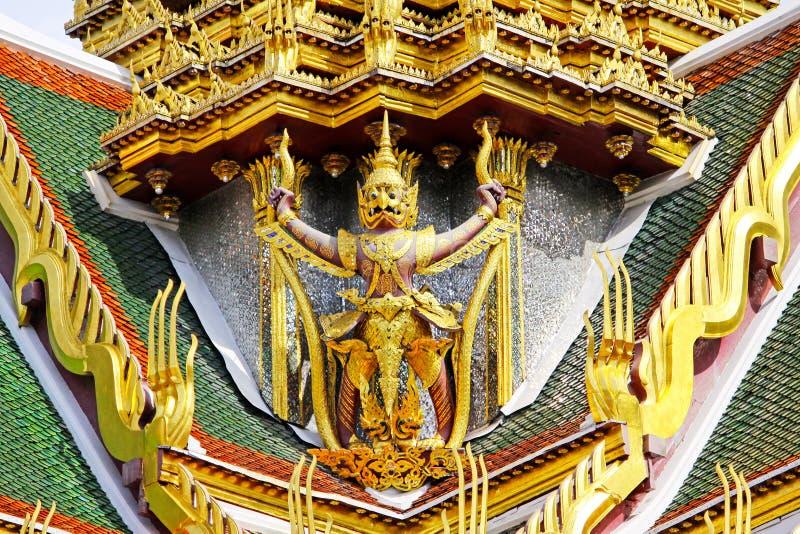 Statue dans le palais grand, Bangkok, Thaïlande image libre de droits