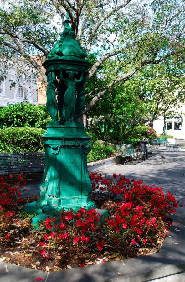 Statue dans le quartier français de la Nouvelle-Orléans photo libre de droits