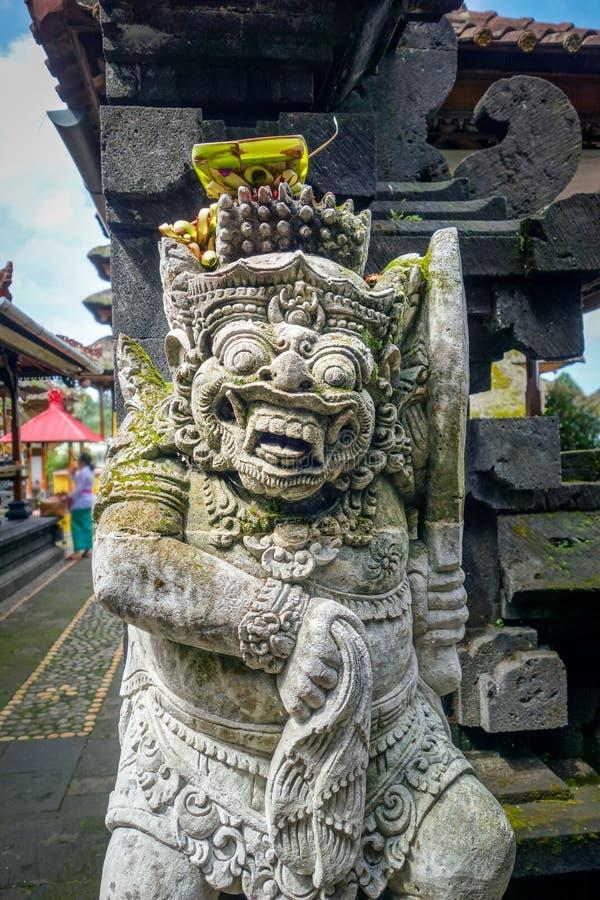 Statue dans le temple de Pura Besakih, Bali, Indonésie photos libres de droits