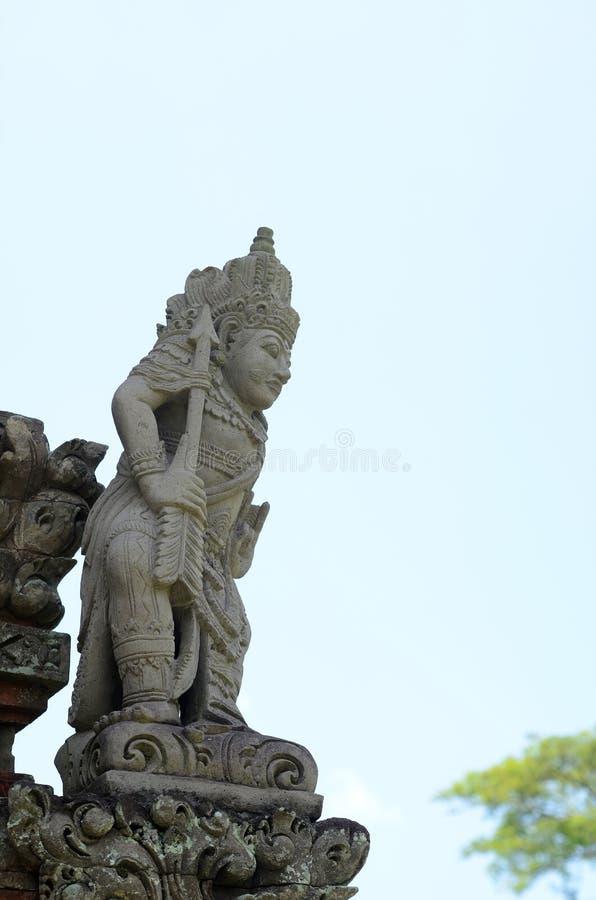 Statue dans Pura Taman Ayun image stock