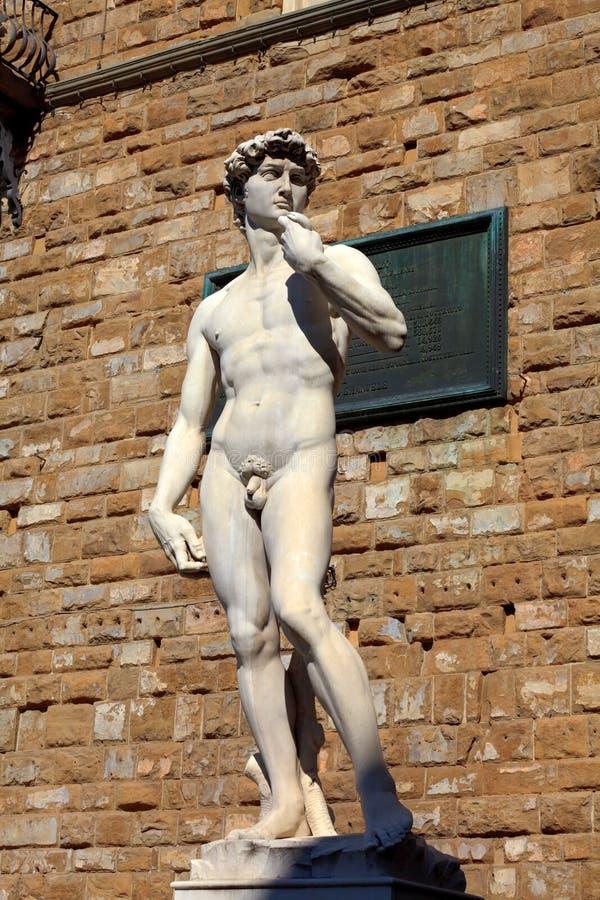 Statue of David stock image