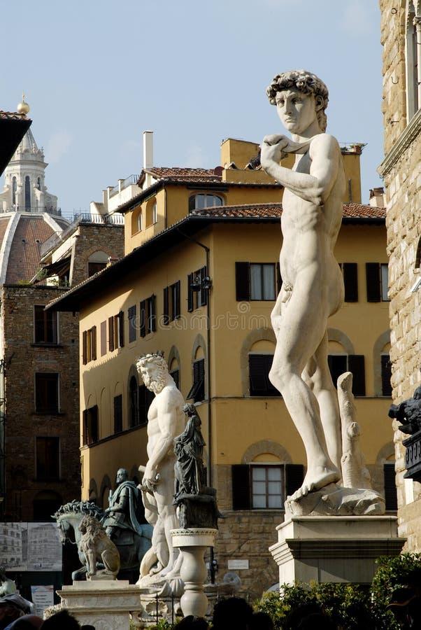 Statue of David stock photos
