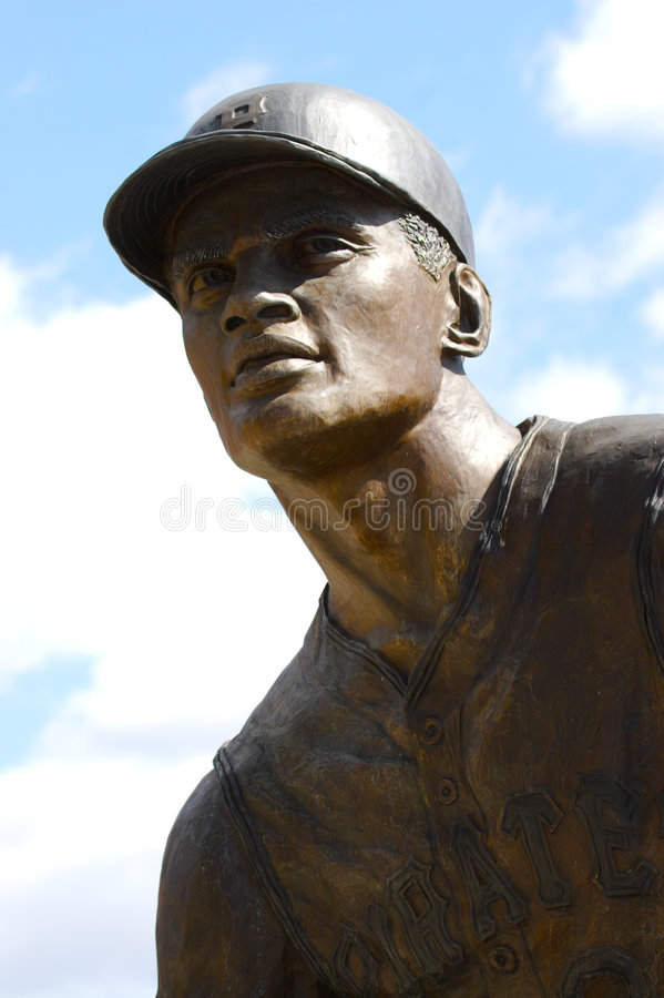 Statue de base-ball image libre de droits