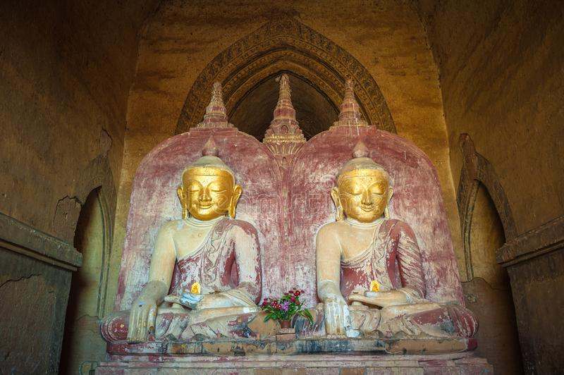 Statue de Bouddha, Bagan, Myanmar photos libres de droits