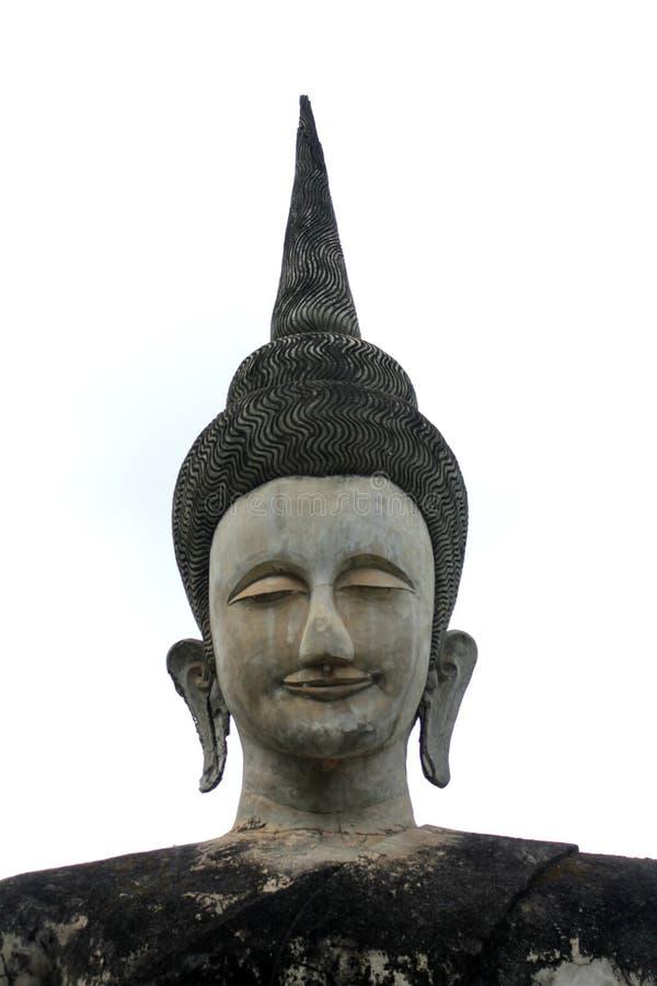 Statue de Bouddha et statue d'ange photos libres de droits