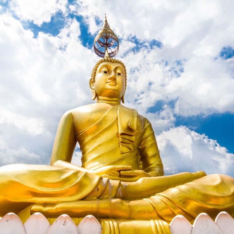 Statue De Bouddha - Krabi Tiger Cave - Wat Tham Sua, Krabi, Thaïlande Photos libres de droits