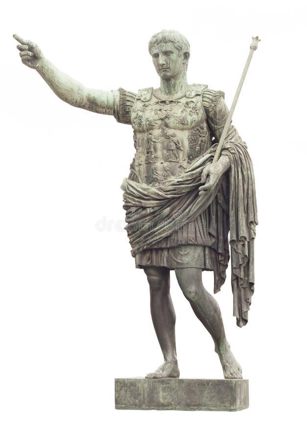 Statue de César à Rome images stock