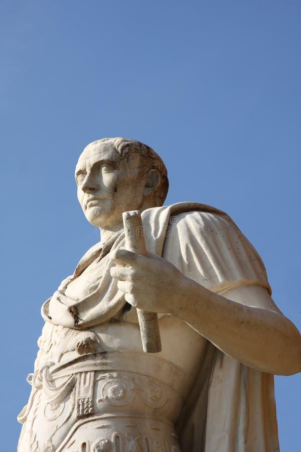 statue de César Jules image libre de droits