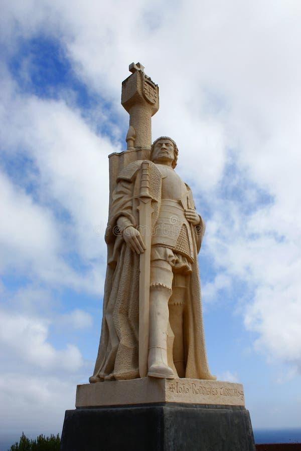 Statue de cabrillo de Juan rodriguez photos stock