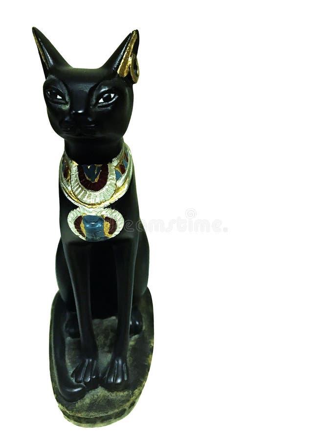 Statue de chat égyptien photo stock