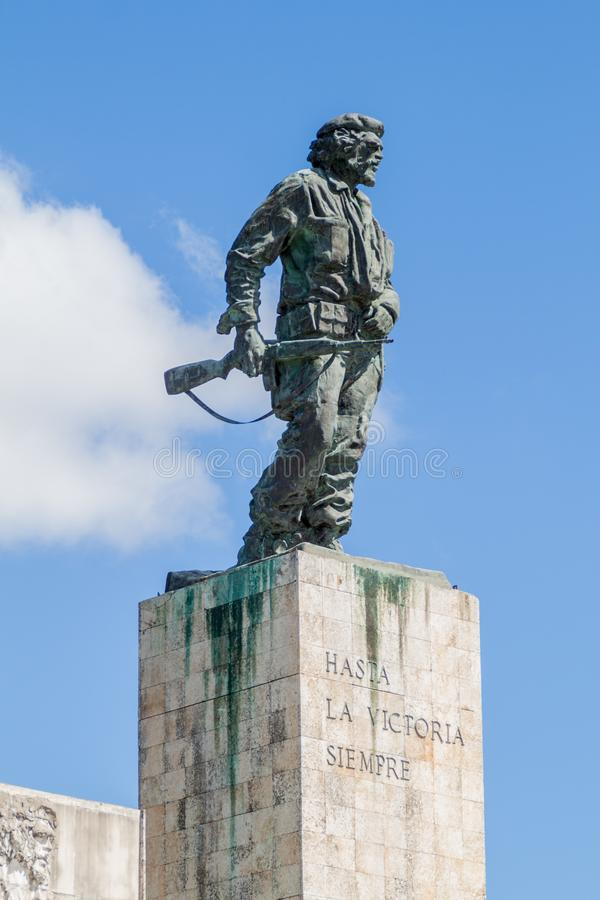 Statue de Che Guevara en Santa Clara, Cu photos libres de droits