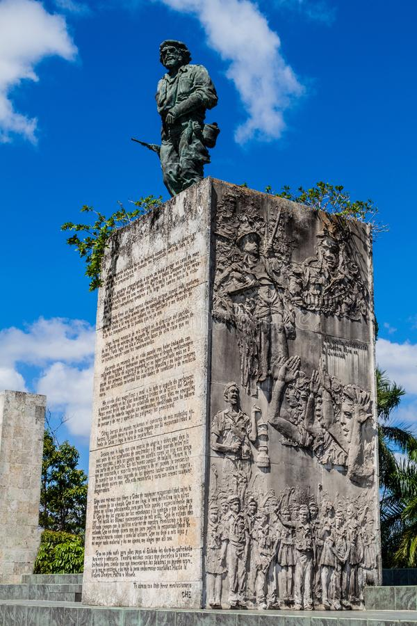 Statue de Che Guevara en Santa Clara, Cu photographie stock libre de droits