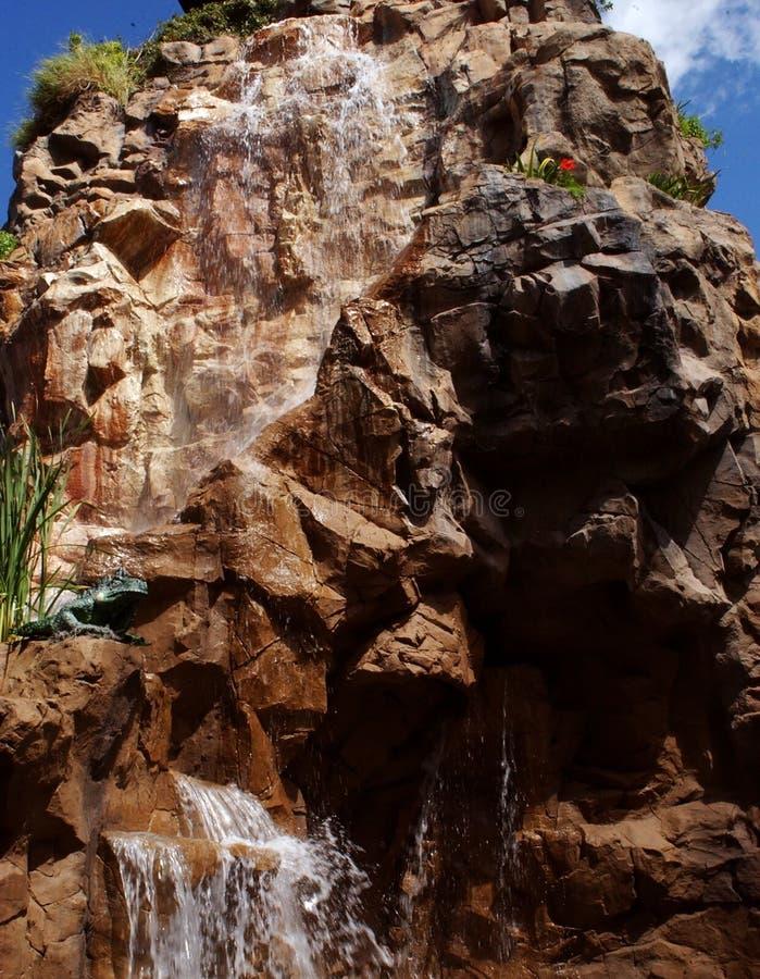 Statue de conception de cascade image stock