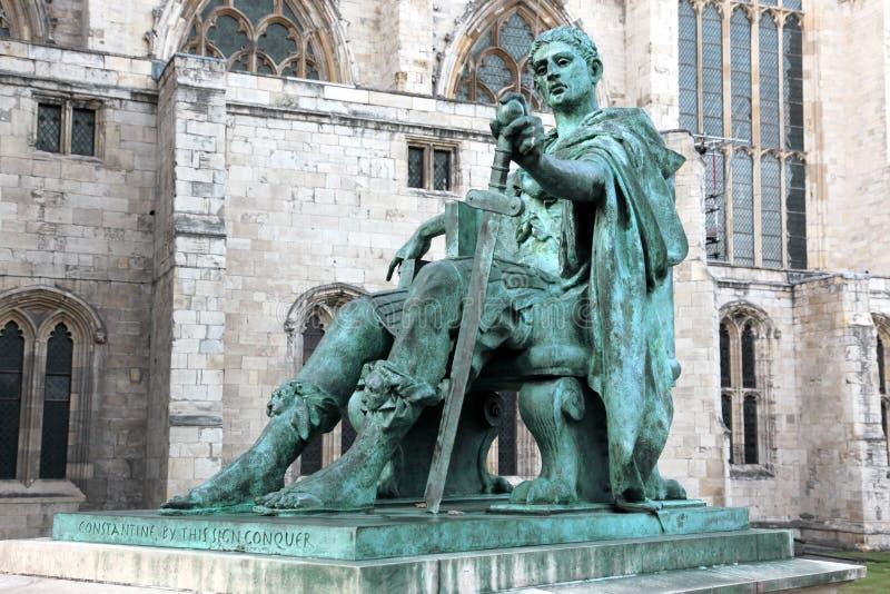 Statue de Constantine I image stock