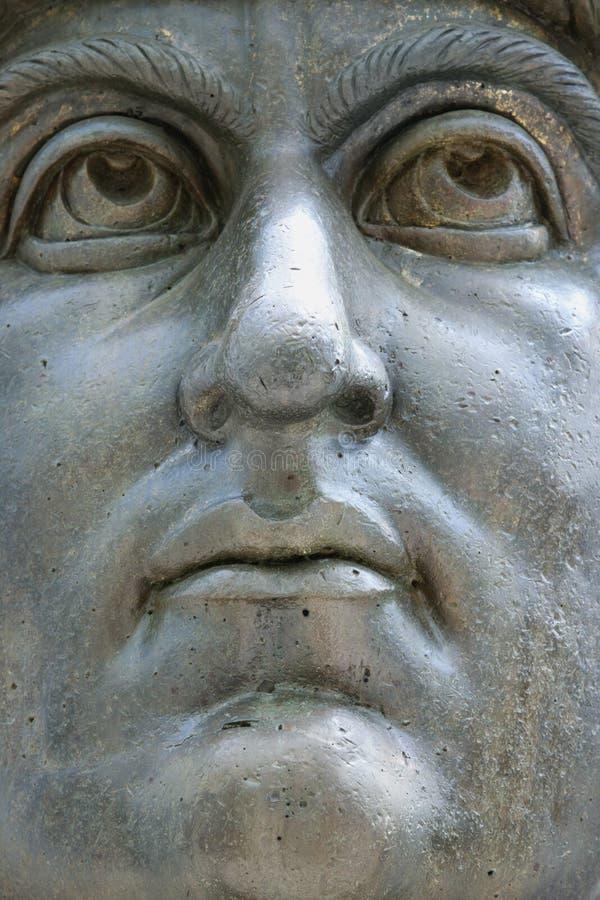 Statue de Constantine I, Rome, Italie image libre de droits