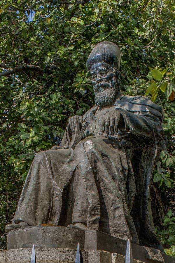 Statue de Dadabhai Naoroji, près de Flora Fountain, maharashtra de Mumbai photo stock